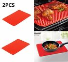 Pyramid Pan Non Stick Fat Reducing Silicone Cooking Mat Oven Baking Tool 1/2/5X