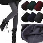 Women Winter Warm Thermal Thick Fleece lined Skinny Slim Leggings Stretch Pants