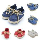0-18 Months Infant Toddler Sneaker Newborn Baby Boy Casual Cotton Crib Shoes new