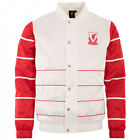Majestic Liverpool FC Striped Varsity Shell Mens Lightweight Jacket MLV1375WB R