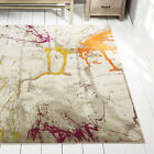 Rugs Multi-Color Area Rug Abstract Paint Splatter Floor Decor Large Carpet