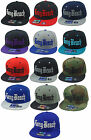 NEW LONG BEACH 3D FLAT BILL SNAPBACK CAP TRENDY HAT MANY COLORS AVAILABLE