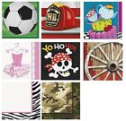 Children Party Themes - 16 Luncheon NAPKINS (Boy/Girl Birthday PARTY RANGE)