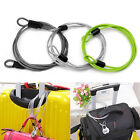 100cm x 2mm Cycling Sport Security Loop Cable Lock Bikes Bicycle Scooter U-Lock