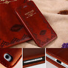 Antique Book Leather Wallet Retro Old Classic Vintage Case Cover For Iphone6s/7