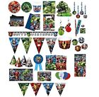 Avengers MULTI HEROES Birthday Party Range (Tableware & Decorations) 2016 Procos