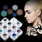 12 Color Matte & Glitter Makeup Eyeliner Gel Waterproof Eye Liner Cream Beauty
