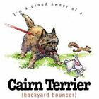 Cairn Terrier Funny T Shirt 7 X Large to 14 X Large Pick Your Size