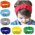 Kids Baby Girl Infant Toddler Solid Headband Hair Band Accessories Headwear