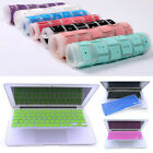 """Rubber Keyboard Protector Skin Cover For Apple Macbook Pro Air Mac 13""""15"""" inch"""
