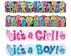 Giant Party Banner (Party/Birthday/Decoration/Baby Shower/Congrats)