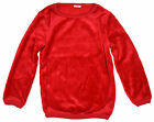 Girls Toddler Red Star Velour Fleece Christmas Fashion Jumper 2 to 6 Years