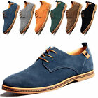 Suede European Stylish leather Shoes Men's oxfords Fashion Comfort Shoes Cheap