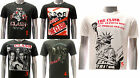 ASIA SIZE Rock Band T-shirt HARD Music Skull Concert Combat Liberty Card RABB