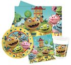 HENRY HUGGLEMONSTER Party Pack {Tablecover/Cups/Plates/Napkins} (Birthday)