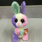 free ship NEW TY BEANIES BOOS Bunny Rabbit Bloom 15CM Stuffed toy