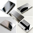 New Stainless Steel Pocket Name Credit ID Business Card Holder Box Metal Case J