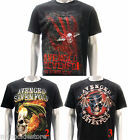 Rock Band T-shirt Heavy Metal Rockabilly Cotton Tee Unisex Concert Tour ARTF