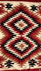 Colorful NAVAJO EYEDAZZLER BLANKET RUG,Serrated designs throughout,Large Size,NR