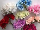 Bunch of 6 - 4 cm Mini Silk Artificial Rose Flowers Bouquet Flowers size 4cm