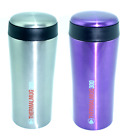 SUMMIT INSULATED THERMAL TRAVEL COFFEE MUG CUP FLASK STAINLESS STEEL LEAKPROOF