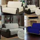 sofa throw cover - Microfiber Sofa Cover Chair Throw Pet Dog Kids Protector Double-Sided 2 Seater