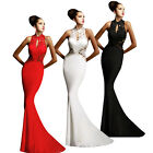 Evening Dress Ball Women Bodycon Dress Lace Long Maxi Gown Prom Mermaid Dresses