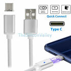 Magnetic Type-C USB Charger Charging Cord Cable For LG G5 Pixel P9 Oneplus3 Mac
