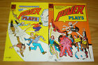 Power Plays vol. 2 #1-2 VG/FN complete series - ac comics - mike kelly 1985 set