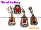 Fashion Women Jewelry Sets Ring Earrings Pendant Mother's Day Gift Stone Pick