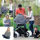 2in1 Baby Car Seat Canopy Cover Nursing Scarf Cover Up Apron For Breastfeeding W