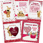 Boofle Valentines Day Card Husband Wife One I Love Admirer Boyfriend Fiancée