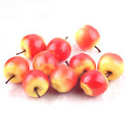 100 Artificial mini Pink Green Apples Fake Fruit food Model House Decorative