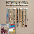 9-in-1 Adhesive Wall Hanging Storage Hooks Jewelry Display Organizer Necklace