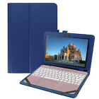 "Flip Leather Stand Case Keyboard Cover For Asus Transformer BooK T101HA 10.1"" US"