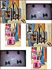 NEW Rolling Pet Carrier Pink /Puppy Paw / Pretty in Pink Carriers 4  ANIMALS