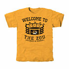 Missouri Tigers Stadium Tri-Blend T-Shirt - Gold - College