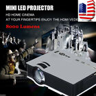 8000lumens 1080P LED Home theater Multimedia Projector HDMI/USB/VGA SD Play LOT