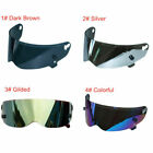 4 Colors Choose Fiberglass Motorcycle Visor Lens for ATV-Type Full Face Helmet