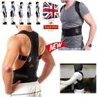 Men's Posture Corrector Corset Back Support Brace Lumbar Support Back Belt UK