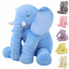 Long Nose Elephant Doll Lumbar Pillow S/M/L Soft Plush Stuff Toys For Baby Kids