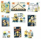Gru, Mi Villano Favorito Minions Adhesivo/Para colorear/Actividad/Packs/Kits/