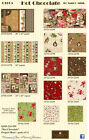 Hot Chocolate ~ Nancy Mink ~ Wilmington Prints ~ By the Yard ~ Apron/Craft Panel
