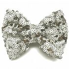 3 Inch  Baby Girls Glitter Hair Bows Sequin Bows Hair Clips Barrette Headwear
