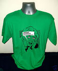 FREAKS The Creeps mens green cotton promo T shirt NEW/UNWORN