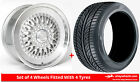 Alloy Wheels & Tyres 18'' Drehen DH-X For Mercedes A-Class [W176] 12-16