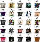 3D Patterned Women Shoulder Shopping Bag Tote Beach Satchel School Handbag
