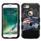 New England Patriots #G Rugged Impact Armor Case for iPhone 5s/SE/6/6s/7/Plus