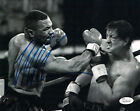 MIKE TYSON AUTOGRAPHED/SIGNED BOXING 8X10 PHOTO (VS STALLONE) 14861 JSA