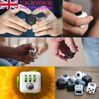 Fidget Cube Toy Stress Relief Focus For Adults Children 6+ ADHD AUTISM Gift IM3W